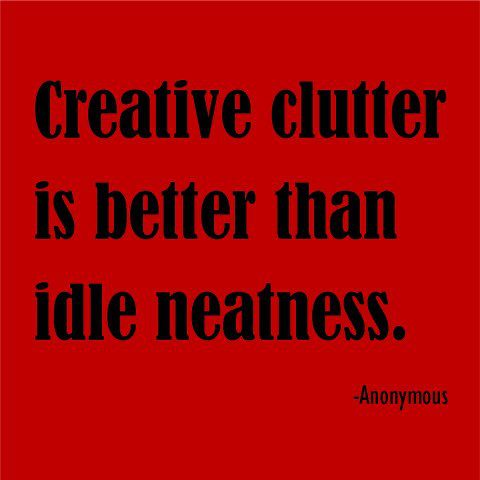 quotes clutter