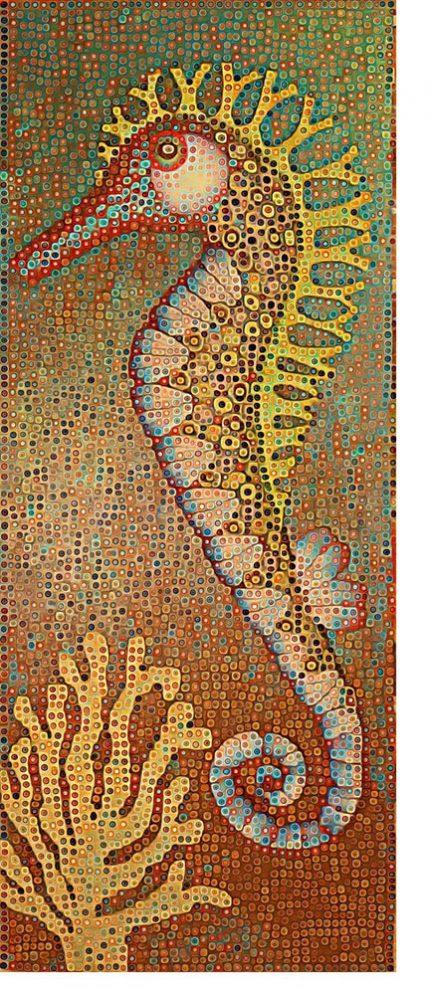 loveless cane wall seahorse 430x989 - Loveless Animals