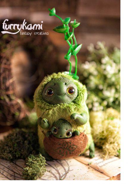 swap spirit art doll ooak by furrykami creatures d9xk9yd 430x619 - Fuzzy Comfort