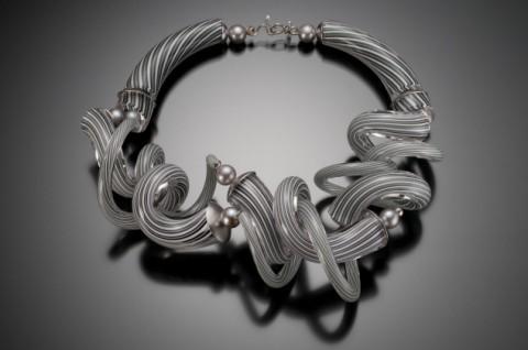 1-grey-glass-twist-necklace