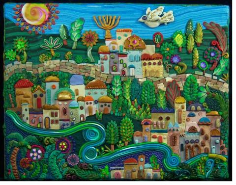 Joan Israel cityscape israel