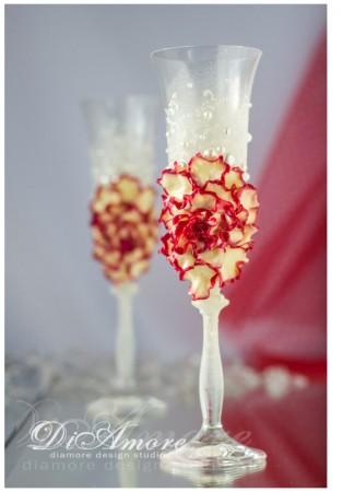 DiAmorDS etsy champagne flower