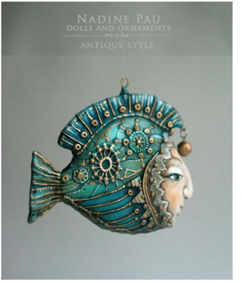 Nadine Pau fish ornament