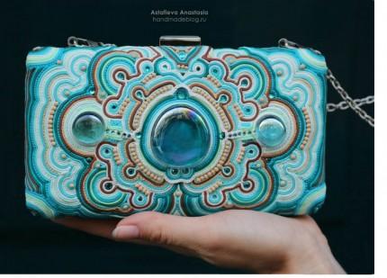 Anastasia Astafieva soutache purse