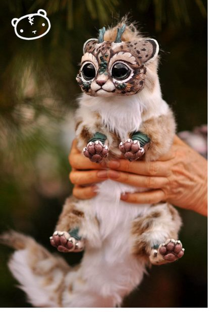lynx chibi dragon spirit by lisatoms d8tcih3 1 430x618 - Kitten Cute