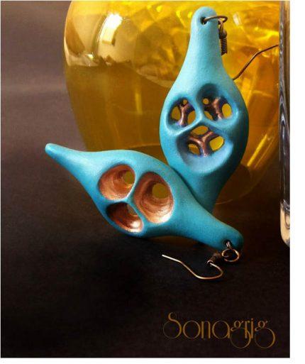 sonaGrig blue earrings 430x513 - A Favorite Blue