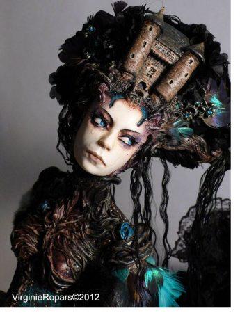 virginie ropars castle headed 345x450 - Fantastic Faces